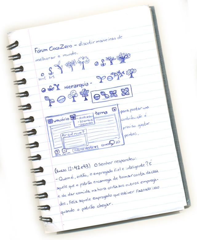 caderno - forum