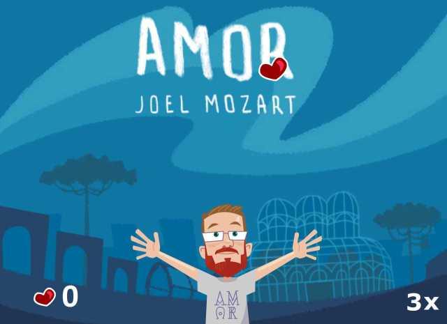 desenho do jogo Amor - Joel Mozart.